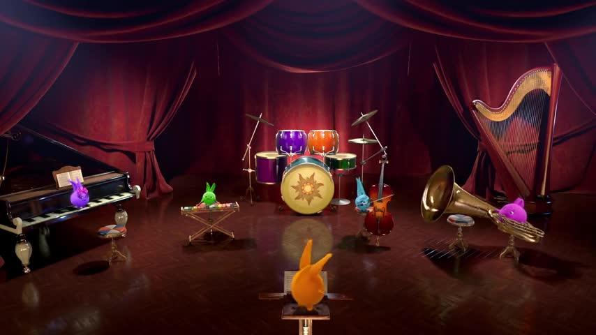 انیمیشن شاد کودکانه خرگوش های خورشیدی - قسمت 3 - Sunny Bunnies