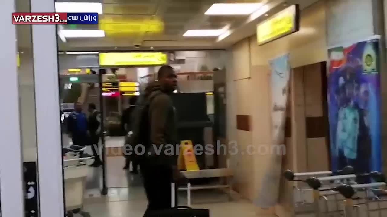 رفتار ناشایست خدمات فرودگاه مهرآباد با دیاباته