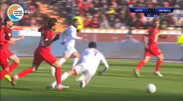 خلاصه بازی پرسپولیس 2-0 تراکتور (لیگ برتر خلیج فارس 98/99)