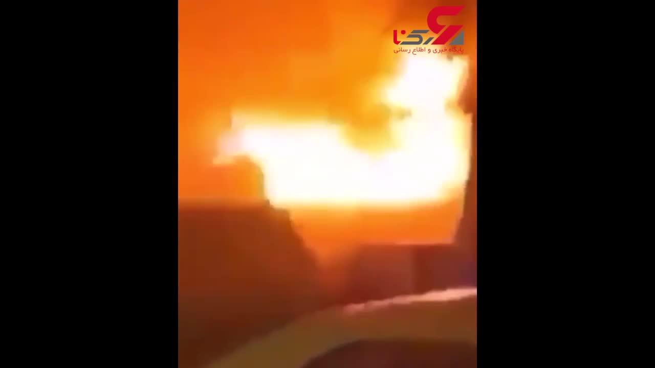 نخستین فیلم از شهادت سردار قاسم سلیمانی در فرودگاه بغداد