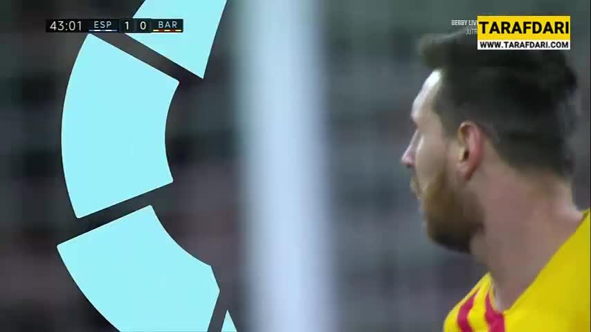 خلاصه بازی اسپانیول 2-2 بارسلونا (لالیگا - 2019/20)