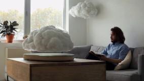 بلندگوی بلوتوثی به شکل ابر طوفانی