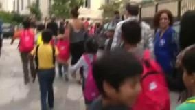 کودکان پناهجو در یونان به مدرسه رفتند
