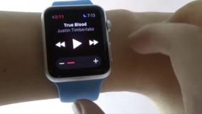 کنترل ساعت هوشمند WristWhirl با حرکت مچ دست