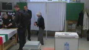مجارها در رفراندوم آری یا نه به مهاجران در پای صندوقهای رای