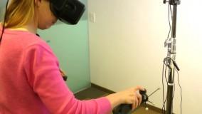 لمس اشیاء سه بعدی واقعیت مجازی با فناوری جدید مایکروسافت