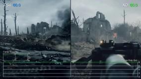 مقایسه گرافیک Battlefield 1 در کنسولهای ایکس باکس وان و پلی استیشن 4 | گیمشات