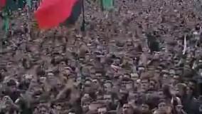 رجز ترکی بسیار پر شور حسینیه اعظم زنجان
