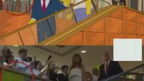 پیش بینی ریاست جمهوری ترامپ در کارتون 16 سال قبل - فانی کول