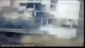 کلیپ شکار بی نظیر ماشین فرماندهان داعش