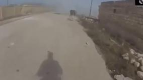 لحظه کشته شدن مهمترین فرمانده داعش سیف الله شیشانی چچنی دنیای غم