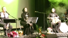 بداهه نوازی مهرناز دبیرزاده و احسان کرمی  در کنسرتش