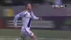 فوتبال شادی بعد گل جالب باحال خفن دیدنی