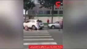 کشته شدن مردی با ضربات چاقو توسط همسرش