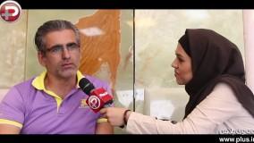 اقدام عجیب یک مرد بر سر مزار سوپراستار سینمای ایران