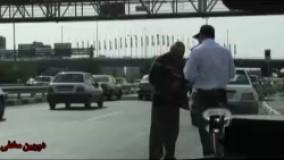 دوربین مخفی خنده دار پلیس راهور و بهانه های خنده دار مردم