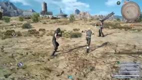 ویدیو دوم از دموی بازی Final Fantasy XV - گیم شات