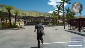 ویدیو بازی Final Fantasy 15 برروی کنسول پلی استیشن 4 پرو - گیم شات