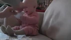 بامزه ترین خنده های کودکان