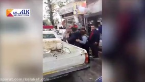 سیلی زدن ماموران شهرداری به زنی که نان آور خانه است... شهر فومن! - فانی کول