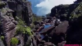آبشار آنجل : بلند ترین آبشار دنیا