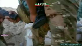 ویدئو جنگ بر علیه داعش در اطراف بیجی در 19 جولای 2016