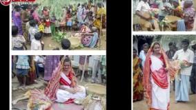 عجیب ترین ازدواج دنیا رقم خورد؛ ازدواج دختر ۱۸ ساله با سگ ولگرد!