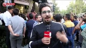 عملیات سنگین بادیگاردهای رضا گلزار برای نجات سوپراستار از فست فود خیابان دیباجی