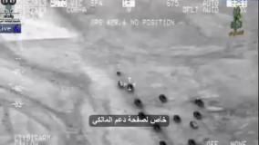 درگیری هوایی بین ارتش عراق و داعشی ها و قتل عام آنان