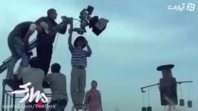 پشت صحنه فیلم «مبارک» با بازی «الناز شاکردوست»