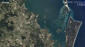 ویژگی جدید گوگل ارث - تماشای 32 سال گذشته زمین به صورت تایم لپس_2