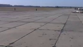 پرواز یک جنگنده سوخو Su-27 در ارتفاع پایین و واکنش بهموقع خلبان