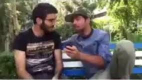 یه پشت صحنه از کلیپ های محمد امین کریم پور و میثم