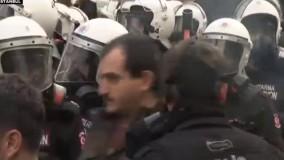 راهپیمایی در ترکیه و برخی شهرهای اروپایی در حمایت از حزب دموکراتیک خلق ها