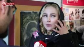 آنا نعمتی از تیپ خبرسازش روی فرش قرمز رُم گفت: خارجی ها به حجابم احترام گذاشتند!
