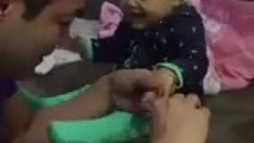 گرفتن ناخن بچه