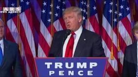 سخنرانی کامل ترامپ (به همراه ترجمه)