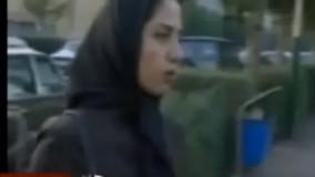 پاسخ کوبنده یک دختر دانشجو به خبرنگار جمهوری اسلامی
