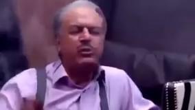 صحنه تریاک کشیدن مهران مدیری و غلام رضا نیکخواه