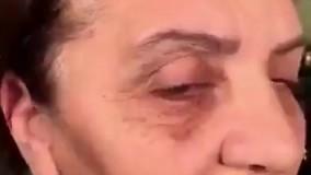 آرایش صورت زنان مسن  و تبدیل به ...