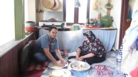 پختن نان خلفای گیلانی