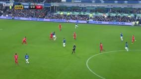 خلاصه اورتون 0–1 لیورپول