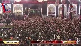 مراسیم تبدیل رایة الامام الحسین 1437 هجریة