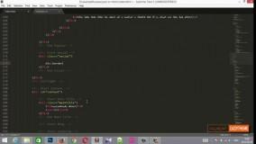 آموزش تبدیل psd به html قسمت 11 - شبکه های اجتماعی
