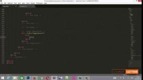 آموزش تبدیل psd به html قسمت هشتم - پجینیشن