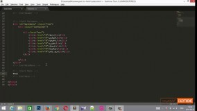 آموزش تبدیل psd به html قسمت ششم - تکمیل قسمت محتوا