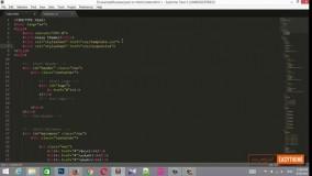 آموزش تبدیل psd به html قسمت آخر - ریسپانسیو قالب