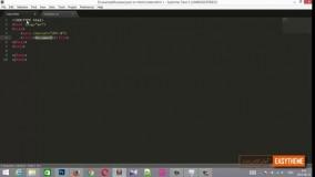 آموزش تبدیل psd به html قسمت چهارم - نوشتن کدهای عمومی