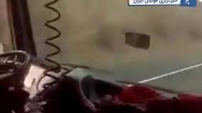 عجیب اما واقعی ؛ تریلی ۱۸ چرخ زیر پاهای دختر بچه ایرانی