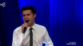 اجرای بهنام نوری وند در برنامه انتخاب خواننده اُسس ترکیه